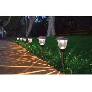 Member's Mark Solar LED Pathway Lights Bronze 10PC